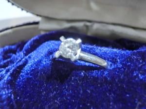 0,47ctのダイヤモンドの買取がありました どうもありがとうございます