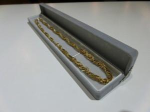 18KT ITALYのネックレスの買取がありました。