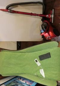 広島市佐伯区吉見園のお客様から買い取りでした。日立 サイクロン掃除機、二段ブースト、2013年式、CV-SW7000、カラー赤