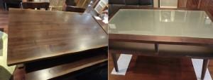 西区己斐本町のお客様からの買取でした。ダイニングテーブル、センターテーブルです。