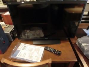 安佐南区緑井のお客様から買取しました。SHARP AQUOS LC-32H11 32インチ