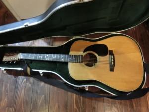 南区にてマーティンのギターの買取がありました