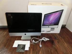東広島にてApple iMac MB950J/A 21.5inch 2009の買取がありました。