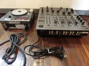 広島市西区のお客様からDENON DN-S1000 PIONEER DJM-600 ミキサー DJセットの買取がありました