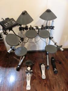 安佐南区上安にてYAMAHA DTX500シリーズ 電子ドラムの買取