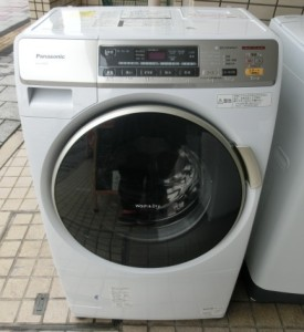 南区皆実町にてパナソニック ドラム式洗濯機 NA-VH300Lの買取がありました。