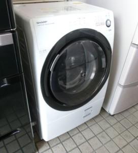 広島市東区曙にてシャープ ドラム式洗濯乾燥機 ES-S60 の買取がありました。