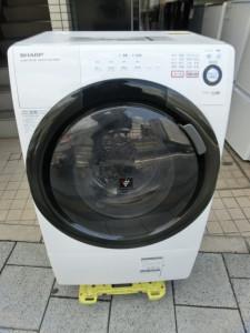 シャープ 2013年製 ドラム式洗濯乾燥機 ES-S60-WL