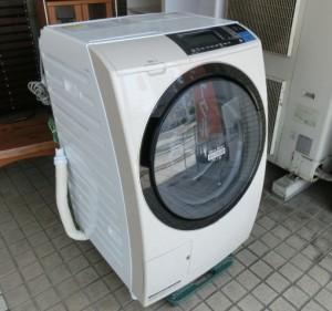 日立 10.0kg ドラム式洗濯乾燥機 BD-S8600R 2014年