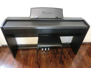 南区堀越町にてCASIO 12年 電子ピアノ PX-735BK プリヴィアの買取がありました。
