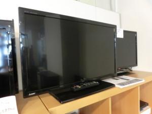 三菱 32型液晶テレビ(LCD-32LB7)2015年製入荷しました!