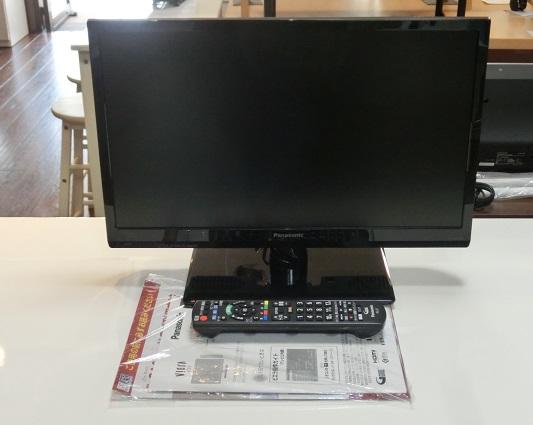 パナソニック 19型液晶テレビ(TH-19C300)2015年製 入荷しました