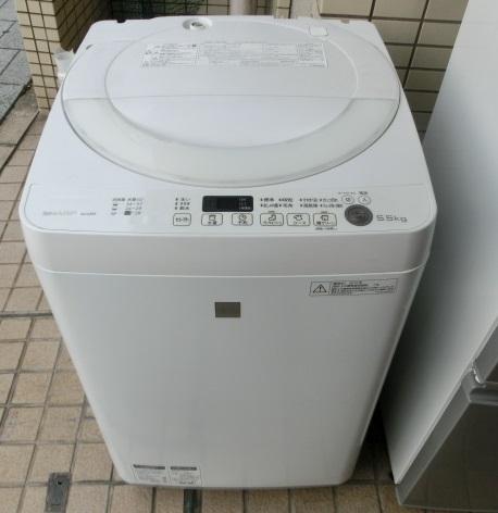 シャープ 全自動洗濯機(ES-G5E3)2016年製 入荷しました。