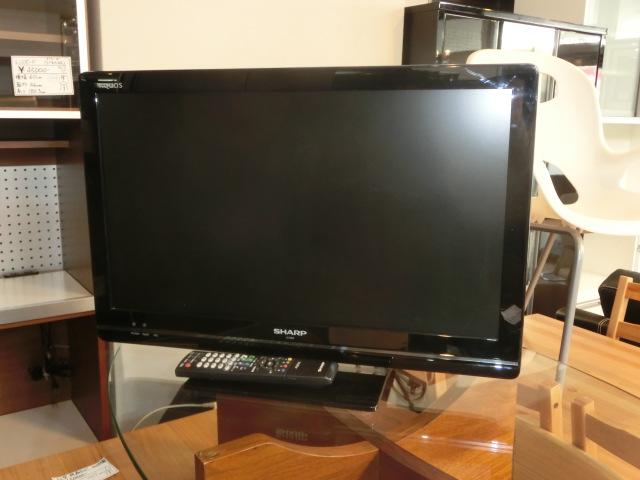 シャープ 24型ハイビジョン液晶テレビ(LC-24K5)入荷しました!